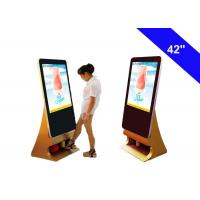 Buy cheap Shoes Polish Commercial LCD Display Kiosk Totem Indoor Advertising Digital Signage from wholesalers