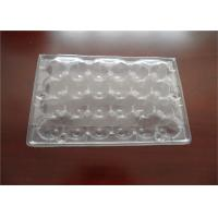 Buy cheap Disposable PET Plastic Quail Egg Cartons Transport Storage Approved from wholesalers