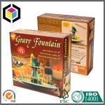 Buy cheap Colorful Design Print Food Grade Paper Box; Custom Color Paper Food Box from wholesalers