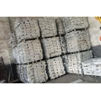 Buy cheap MgSi Alloy Ingot Magnesium Silicon Master Alloy High Tensile Strength from wholesalers