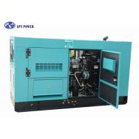 Buy cheap 45kVA DCEC Cummins Electric Generator Unit for School , Super Soundproof Canopy from wholesalers