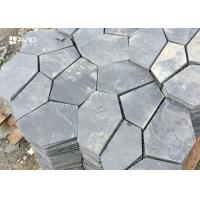 Wholesale Durable Natural Slate Paving Stones 10/20mm Thickness Irregular Size Non Slip from china suppliers
