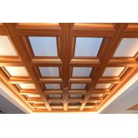 Buy cheap indoor wood ceiling roof Building Material/aluminum Composite Panel plastic facade from wholesalers