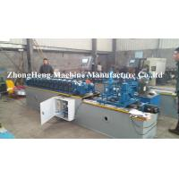 Buy cheap Rolling Up Steel Strip Door Frame Cold Roll Forming Machine With Manual Decoiler from wholesalers