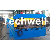 Buy cheap 3 Kw Hydraulic Motor Power Trapezoidal Roofing Sheet Roll Forming Machine TW-RWM from wholesalers