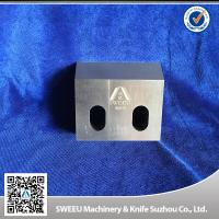 Wholesale Triple Tempt Zerma Plastic Crusher Blades , Plastic Granulator Parts HRC 56-58 from china suppliers