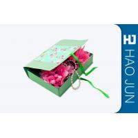 Buy cheap Flat Pack Cardboard Gift Boxes Packaging With Foldble Lids , Square Shape from wholesalers
