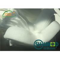 Wholesale Ladies Wear Sleeve Head Roll Felt Fabric White Color For Apparel Industry from china suppliers