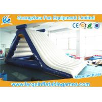 Buy cheap FamilyInflatable Floating Water Slide Theme Parks Giant Water Park Slides from wholesalers