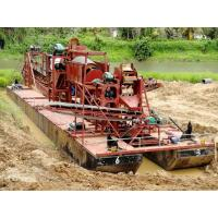 Buy cheap Customized Gold Dredge Boat High Recovery Rate For Alluvial Gold Mining from wholesalers