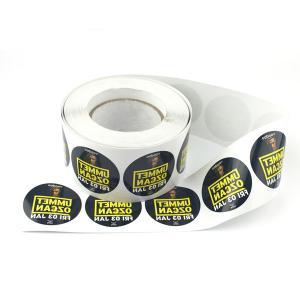 Wholesale Fancy Waterproof Sticker Printing , Custom Vinyl Sticker Printing from china suppliers