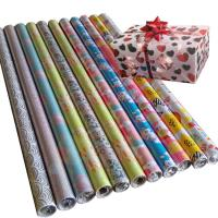 Buy cheap 30inch x 120inch  80gsm coated paper wholesale gift wrapping  paper tissue paper from wholesalers