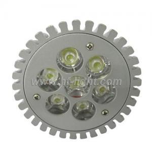 China E27 7*1W Silver LED High Power Spot Light Bulb (HF-SL-HP7) on sale