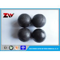 Industrial cast grinding media balls , High Strength forged grinding steel ball