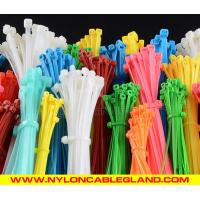 Buy cheap High quality self-locking plastic cable ties eco-friendly plastic tie wraps with CE, ROHS, REACH, UV from wholesalers