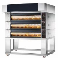 Buy cheap High Efficiency Industrial Bread Baking Machine Low Power Consumption from wholesalers