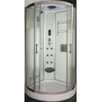 China Bathroom Complete Steam Shower Cabin With Sliding Door Open Style on sale