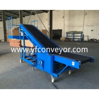 Wholesale Truck Loading Conveyor has a standing platform/Movable belt conveyor with standing platform from china suppliers