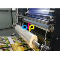 Wholesale Water Based Laminate Cold Laminating Film , Multiple Extrusion BOPP Plastic Film from china suppliers
