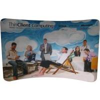 Buy cheap 17ft Curved Fabric Display Wall (Graphics Included) from wholesalers