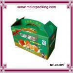 Buy cheap high quality paper fruit box/corrugated box banana orange box ME-CU029 from wholesalers