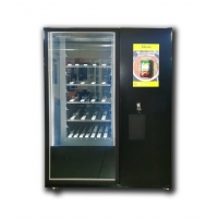 Buy cheap Credit card payment elevator catch remote control red wine drink beer vending machine with security camera from wholesalers