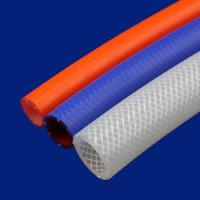 Buy cheap Food Machine Silicone Braided Hose Pipe , High Temperature Braided Hose ID Range 2-100mm from wholesalers