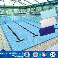 Buy cheap new 2015 product 244x119x9mm ceramic swimming pool tiling ideas from wholesalers