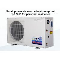 Wholesale 50 / 60 Hz Commercial Air Source Heat Pump , Air Energy Heat Pumps Unit from china suppliers