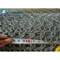 Buy cheap galvanized hexagonal netting wire/hexagonal wire mesh/chicken wire made by hot dipped galvnaized wire from wholesalers
