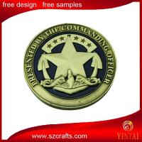 Buy cheap marine corps metal souvenir coin/metal trolley/brass heads i win tails you lose medal token co from wholesalers