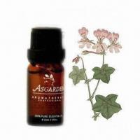 Buy cheap Geranium Essential Oil, Used for Aroma Diffusers or Oil Burners, OEM/ODM Orders Welcomed from wholesalers