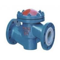 Lined Lift Cast Iron Flanged Check Valve High Temperature PN10 to PN40 Pressure