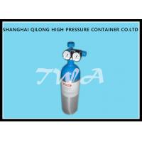 1.68L DOT  CO2 Beverage Aluminium Gas Cylinder 139bar / 2015psi Manufactures