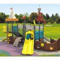 Buy cheap Outdoor Playground Equipment in Pirate Ship Shape from wholesalers