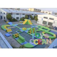 Open Floating Commercial Inflatable Water Park Aquatics Play Equipment Manufactures