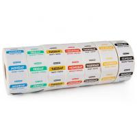 China Thermal Printing Restaurant Label Stickers Waterproof Customized Size Eco - Friendly on sale
