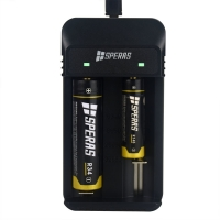 Buy cheap portable 2 Slot 18650 Lithium DC4.2V USB Battery Charger from wholesalers