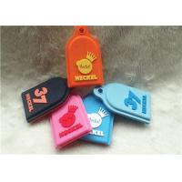 Buy cheap SGS Personalized Promotional Gifts / Multi - Colored Embossed Or Debossed Silicon PVC Keychain from wholesalers