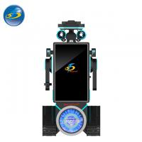 Quality Custom Made Auto VR Game Machine With Cool Robot Appearance 250 kg for sale