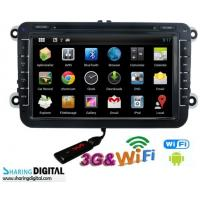 Buy cheap Digital High Resolution Android Double Din DVD With 8 Inch Screen For VWM from wholesalers
