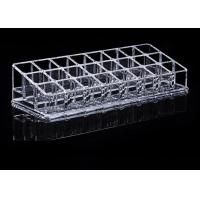 Buy cheap Tattoo Accessories Crystal Clear Acrylic Ink Cup Holder 24 Holes Permanent Makeup Holder from wholesalers