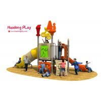 China Sports Series Outdoor Playground Slides 600*260*380cm EN1176 Standard Certificate on sale