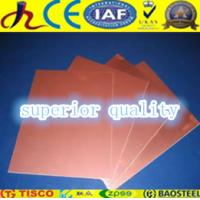 Buy cheap copper sheets for sale from wholesalers