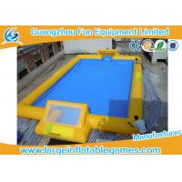 Wholesale Customized 24m X 18m Inflatable Football Field / Soccer Area For Bubble Bumper Ball from china suppliers