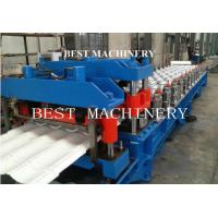 Buy cheap Guide Pillar Roof Sheet Glazed Tile Roll Forming Machine with 18 Station Groups from wholesalers