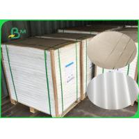 Buy cheap FDA Certified 40gsm White And Brown Kraft Paper With PE Coated Waterproof from wholesalers