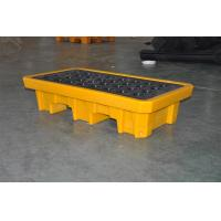 Buy cheap Chemical Drum Spill Containment , 2 Drum Spill Pallet For Storing Oil / Solvents from wholesalers