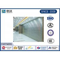 Buy cheap Wear Resistant Fireproof Roller Shutters With Aluminum Silicate Fiber Blanket from wholesalers