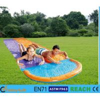 Buy cheap Multicolor Inflatable Water Slides Hydro Glide Technology  Kid Surf Rider Slider from wholesalers